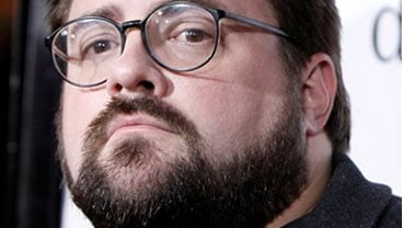 "FILE - In this Oct. 20, 2008 file photo Kevin Smith arrives at the premiere of ""Zach and Miri Make A Porno"" in Los Angeles. (AP Photo/Matt Sayles, File)"