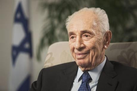 Former Israeli President Shimon Peres on Tuesday suffered a stroke and was rushed to a hospital, where he was sedated and placed on a respirator ahead of a brain scan. (AP Photo/Dan Balilty, File)