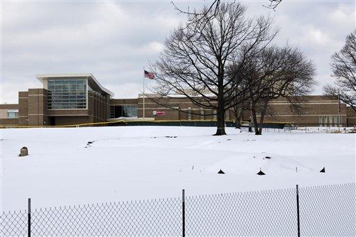 Harriton High School is shown in Bryn Mawr, Pa., Thursday, Feb. 18, 2010.