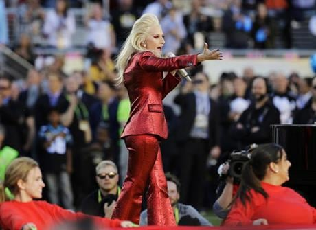 Lady Gaga will headline the Super Bowl halftime show next year. NFL and Pepsi announced Thursday, Sept. 29, 2016, that the pop star will take the stage on Feb. 5, 2017, at the NRG Stadium in Houston. (AP Photo/Julio Cortez, File)