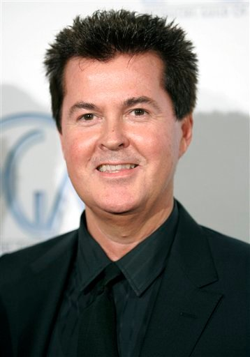 In this Feb. 2, 2008 file photo, producer Simon Fuller arrives at the 2008 Producers Guild Awards where Fuller received the Visionary Award in Beverly Hills, Calif. (AP Photo/Danny Moloshok, file)