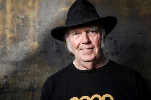 In this May 18, 2016 file photo, Neil Young poses for a portrait in Calabasas, Calif.
