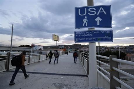 U.S. officials say about 5,000 Haitians showed up at San Ysidro from October 2015 through late last month, and Immigration and Customs Enforcement Director Sarah Saldana said at a recent congressional hearing that officials told her on a trip to Central A