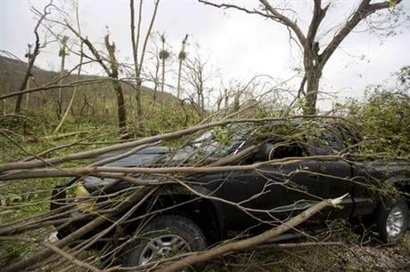 Two days after the storm rampaged across the country's remote southwestern peninsula, authorities and aid workers still lack a clear picture of what they fear is the country's biggest disaster in years. (AP Photo/Dieu Nalio Chery)