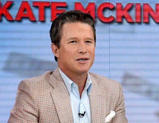 "In this Sept. 26, 2016 photo released by NBC, co-host Billy Bush appears on the ""Today"" show in New York. Bush says he's ""embarrassed and ashamed"" by a 2005 conversation he had with Donald Trump in which Trump made lewd comme..."