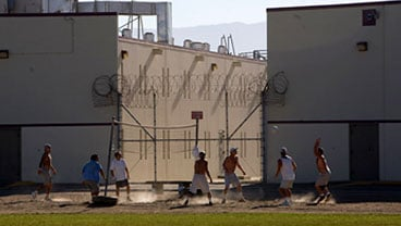 Pleasant Valley State Prison in Central California