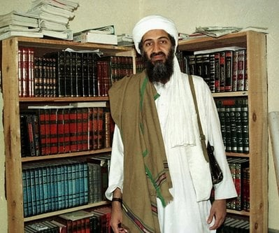 FILE - This April 1998 picture shows al-Qaida leader Osama bin Laden in Afghanistan. U.S. Attorney General Eric Holder told Congress on Tuesday,