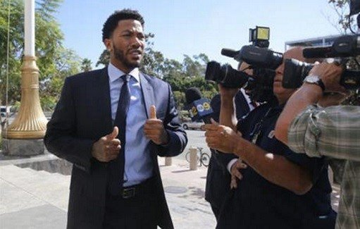 APNewsBreak: Derrick Rose thankful for verdict