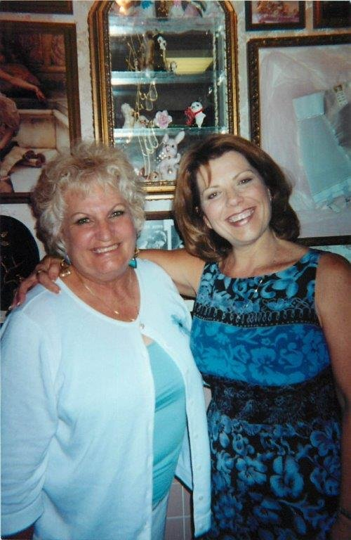 Mary Jean Anderson and Aunt Jean