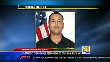 An EMT struck and killed Thursday morning on SR-163 has been identified as 24-year-old Esteban Bahena.