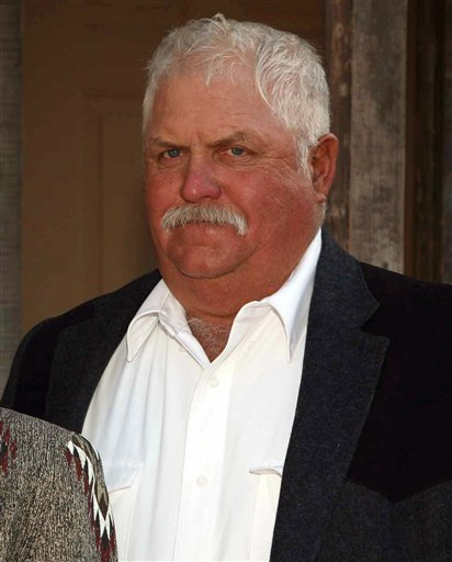 This 2008 picture provided by the Arizona Farming & Ranching Hall of Fame shows Cochise County rancher Robert Krentz in Goodyear, Ariz, Krentz was killed last Saturday, March 27, 2010 on his 35,000 acre ranch north of Douglas.