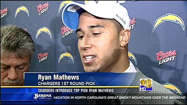 Fresno State running back Ryan Matthews