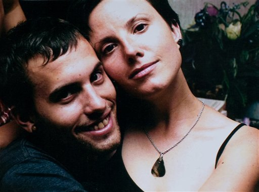 This undated file photo released by freethehikers.org, shows Americans Shane Bauer, left, and Sarah Shourd, right, who along with Josh Fattal, not pictured, have been held in Iran since crossing the Iraq border in July 2009. (AP Photo/freethehikers.org)