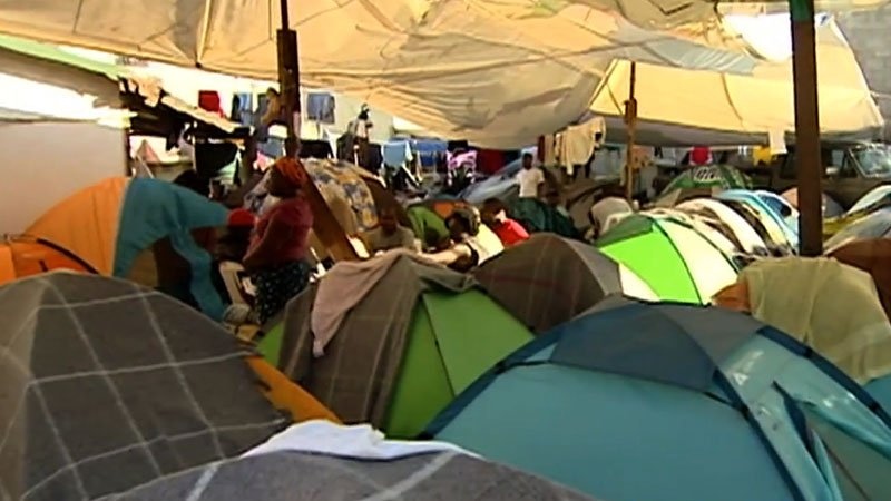 Humanitarian crisis reaches Tijuana/San Diego border