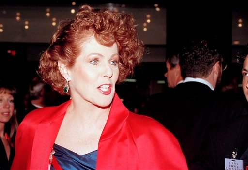 In this June 1, 1992 file photo. Actress Lynn Redgrave arrives at the Gershwin Theater in New York for the 46th annual Tony Awards. Redgrave. (AP Photo/Ron Frehm, file)