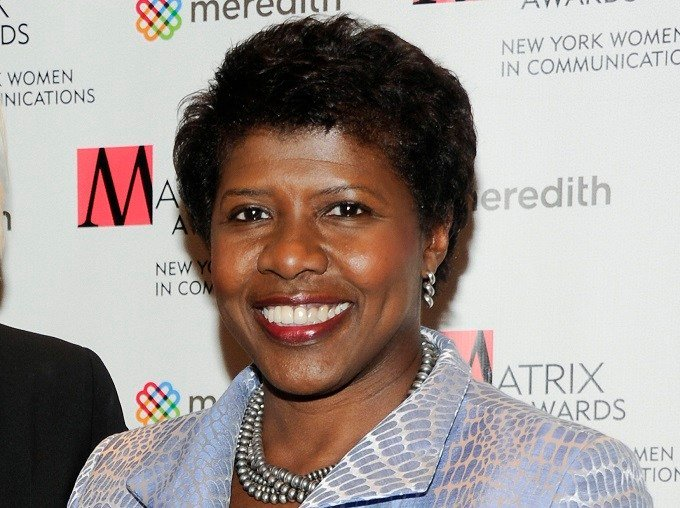 """In this April 11, 2011 file photo shows Gwen Ifill attends the New York Women in Communications' 2011 Matrix Awards in New York. PBS NewsHour"""" has named Ifill and Judy Woodruff as co-anchors and co-managing editors of the weeknight broadcast. (AP Photo/Ev"""