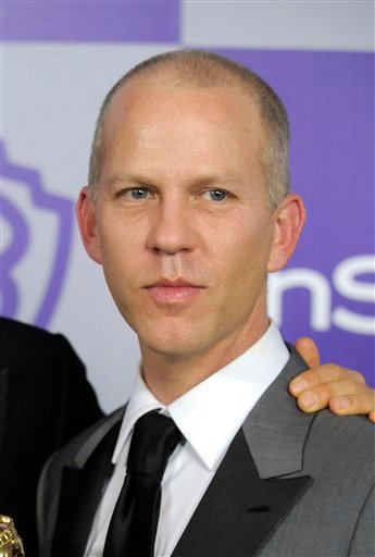 "FILE - In this Jan. 17, 2010 file photo, ""Glee"" creator Ryan Murphy arrives at the InStyle/Warner Bros. party following the 67th Annual Golden Globe Awards in Beverly Hills, Calif. (AP Photo/Chris Pizzello, file)"