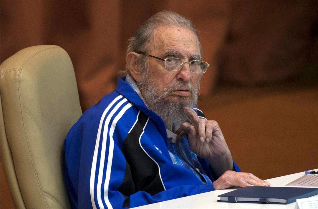In this April 19, 2016 file photo, Fidel Castro attends the last day of the 7th Cuban Communist Party Congress in Havana, Cuba. (Ismael Francisco/Cubadebate via AP, File)