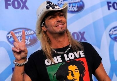 Bret Michaels is seen backstage during the 'American Idol' finale on Wednesday, May 26, 2010, in Los Angeles.
