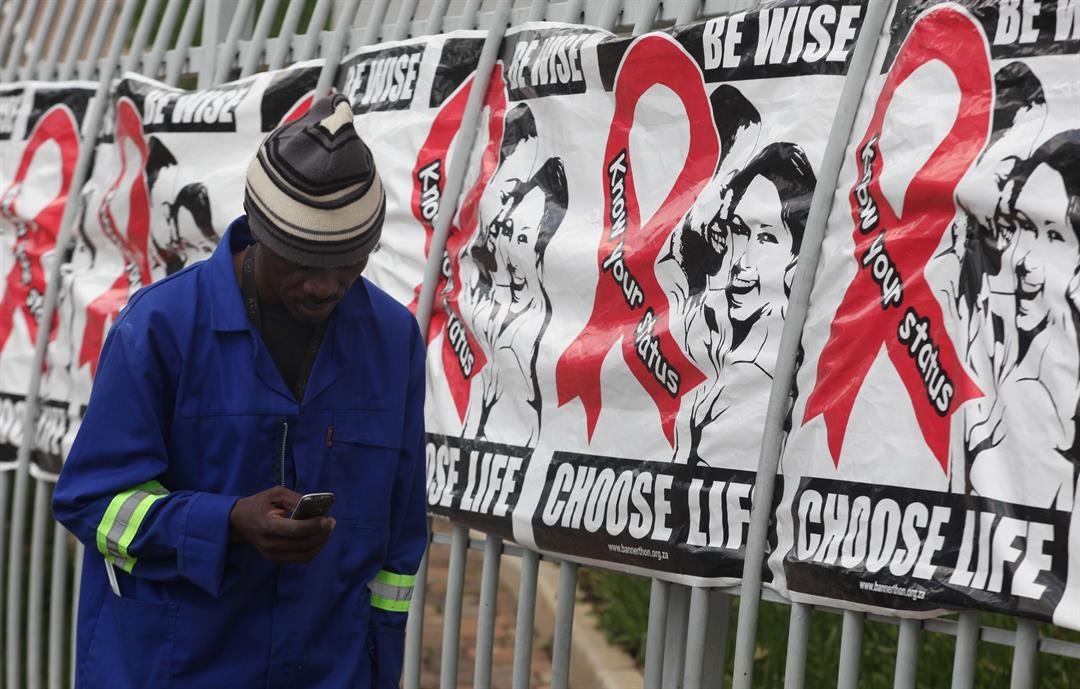 About 2 million HIV-infected people are on government supplied ARV's with stigma related to the disease being a major issue according to the Treatment Action Campaign (TAC) who fought for the government funded drugs. (AP Photo/Denis Farrell)