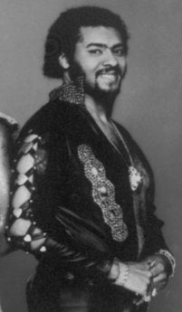This picture provided by Magic Sound Productions on November 1984 shows Marvin Isley of the group Isley-Jasper-Isley.