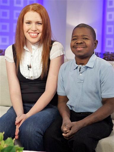 "In this Feb. 26, 2008 file photo, actor Gary Coleman, best known from the television series ""Diff'rent Strokes"" and his wife Shannon Price, appear on the the NBC ""Today"" television program in New York."