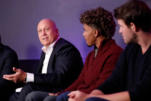 Former Baltimore Orioles player Cal Ripken Jr., speaks during an Under Armour announcement event at Major League Baseball's winter meetings, Monday, Dec. 5, 2016 in Oxon Hill, Md.