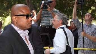 Randy Jackson arrives to a Los Angeles courthouse Monday, June 14, 2010, for a preliminary hearing setting and motions in the trial of Michael Jackson's personal doctor Conrad Murray.