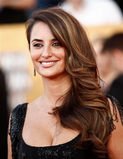 In this Jan. 23, 2010 file photo, Penelope Cruz arrives at the 16th Annual Screen Actors Guild Awards in Los Angeles.