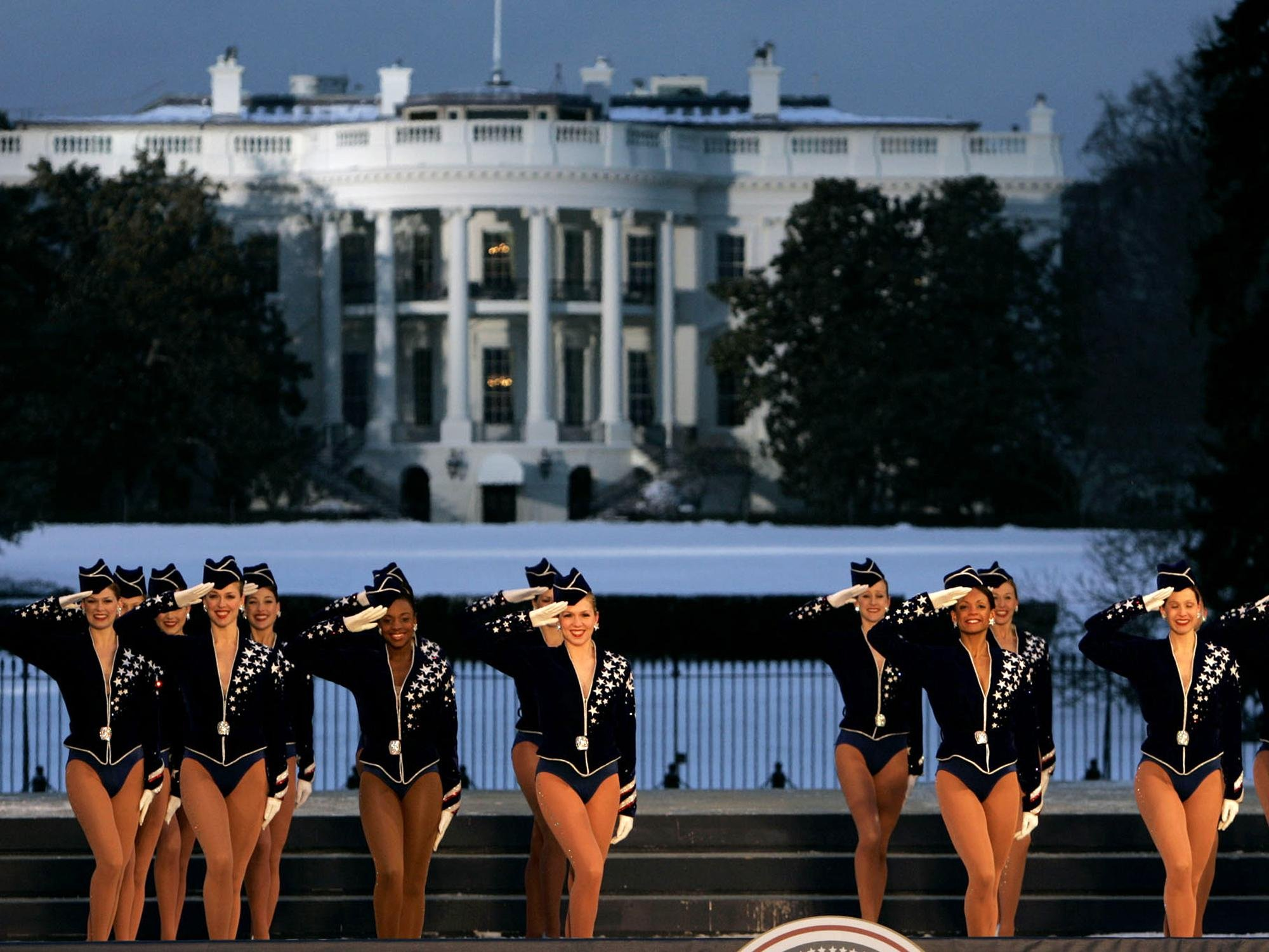The Rockettes perform during Freedom Concert on the Ellipse, Washington DC, photo