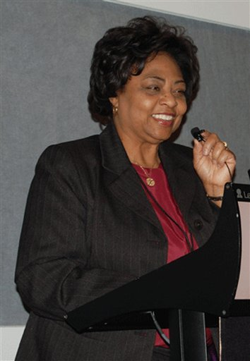 An undated photo provided by the United States Department of Agriculture shows USDA official Shirley Sherrod.