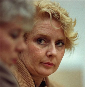 This Nov. 13, 1991 file photo shows Betty Broderick during her trial for murder at the San Diego County Courthouse.