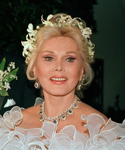 In this Aug. 15, 1986 file photo, actress Zsa Zsa Gabor is shown Los Angeles. (AP Photo/File)