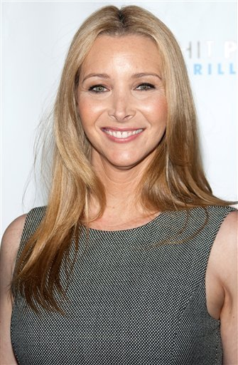 In this June 14, 2010 file photo, Lisa Kudrow arrives to the 14th Annual Webby Awards in New York. (AP Photo/Charles Sykes, file)