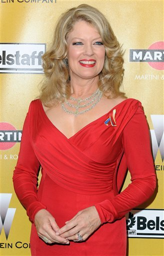 In this Jan. 17, 2010 file photo, Mary Hart arrives at The Weinstein Company 2010 Golden Globes After Party held at The Beverly Hilton Hotel in Beverly Hills, Calif.