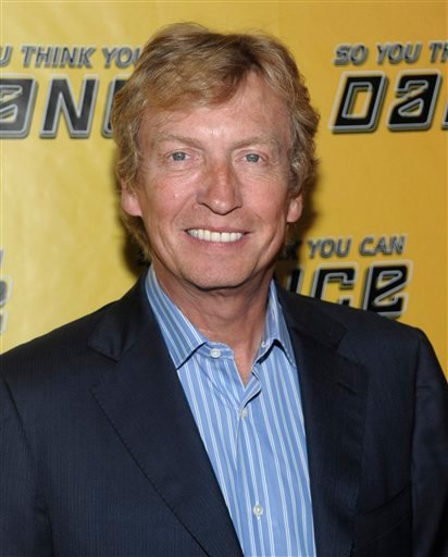 "In this May 27, 2010 file photo, TV personality Nigel Lythgoe arrives at a viewing party for the new season of ""So You Think You Can Dance"" in West Hollywood, Calif."