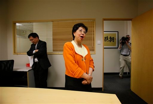 World Health Organization (WHO) Director-General Margaret Chan speaks to reporters following a teleconference in Hong Kong, Tuesday, Aug. 10, 2010. The WHO said Tuesday the swine flu pandemic is over. Chan said Tuesday.