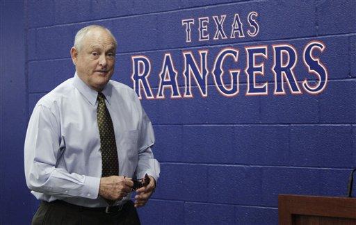 Texas Rangers president Nolan Ryan