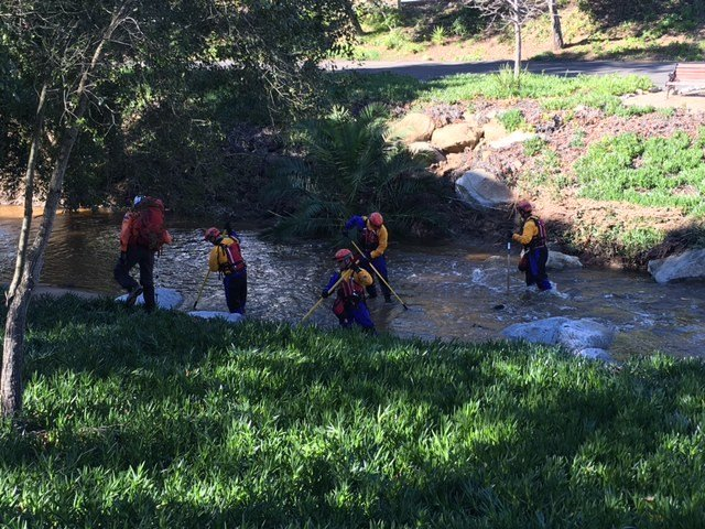The search for Phillip Campbell continued Wednesday.