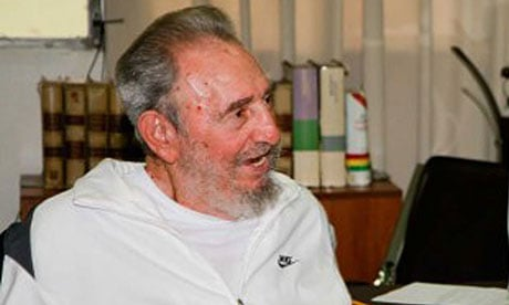 In this July 2010, file photo, Fidel Castro is photgraphed during a visit to the National Centre for Scientific Investigation in Havana.