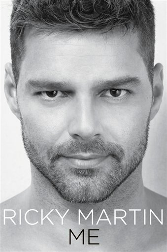 "In this book cover image released by Celebra, the cover of the English edition of Ricky Martin's memoir, ""Me,"" is shown. The Puerto Rican singer is set to release his memoir on November 2. (AP Photo/Celebra)"