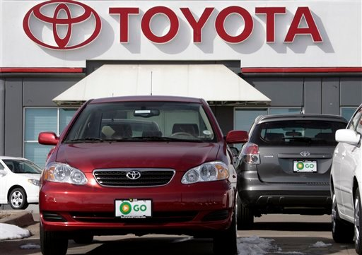 Toyota said Thursday, Aug. 26, 2010, it is recalling more than a million Corolla sedans and Matrix hatchbacks with engines that may stall.