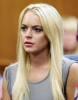 FILE - In this July 20, 2010 file photo, Lindsay Lohan listens during a court hearing in Beverly Hills, Calif.  (AP Photo/ Los Angeles Times, Al Seib, pool)
