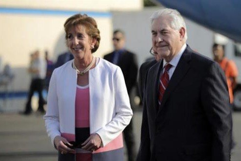 Secretary of State Rex Tillerson met with their Mexican counterparts.