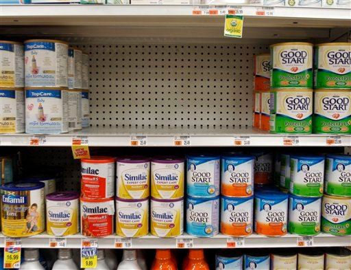 Drugmaker Abbott Laboratories said it is recalling millions of containers of its Similac infant formula that may be contaminated with insect parts.