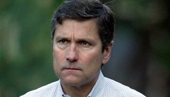 This July 8, 2010 file photo shows Steve Burke, of Comcast,at the annual Allen & Co. Media summit in Sun Valley, Idaho. (AP Photo/Nati Harnik, file)