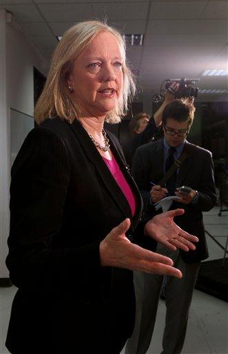 California GOP gubernatorial candidate Meg Whitman.