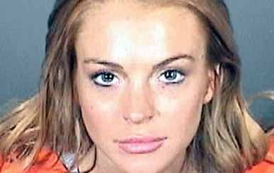This booking photo provided by the Los Angeles County Sheriff's Department on Friday, Sept. 24, 2010 shows Lindsay Lohan.