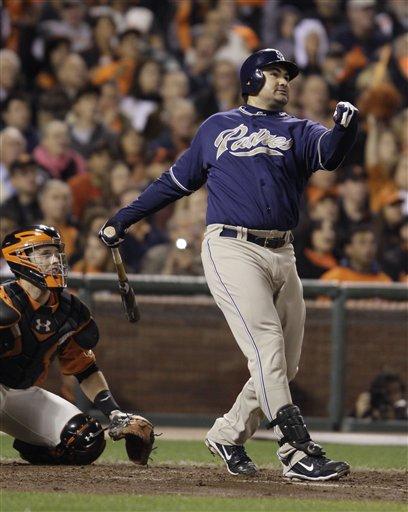 San Diego Padres' Adrian Gonzalez