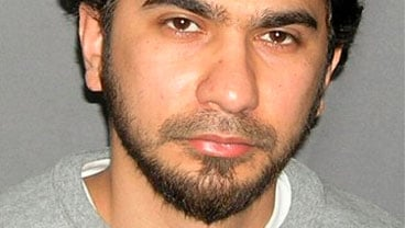 This undated file photo originally released by the U.S. Marshal's Service on May 19, 2010, shows Faisal Shahzad. (AP Photo/U.S. Marshals Service, File)